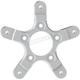 Chrome Spoke Mount Ness Wheel FLT Rotor Adapter - 33-103