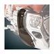 Smoke Chrome Lower Cowl Deflectors - 52-715