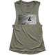 Womens Olive Induction Tank Top