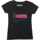 Womens Black/Pink Supremacy T-Shirt