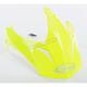 Hi-Vis Yellow Visor for GM11S Helmets - G011072
