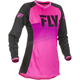 Youth Girl's Neon Pink/Black Lite Jersey