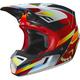 Red/Yellow MVRS V3 Motif Helmet