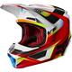 Red/White V1 Motif Helmet