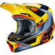 Yellow V1 Motif Helmet