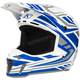 White/Gray Velocity F3 Helmet