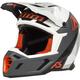 Black/Gray/White F5 Camo Helmet