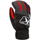 Black/Dark Gray/Red Klimate Short Gloves