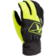 Hi-Vis/Black Klimate Short Gloves