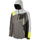 Gray/Black/Lime Storm Jacket