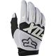 White Dirtpaw Race Gloves