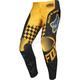 Kids Black/Yellow 180 Czar Pants