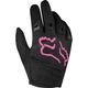 Kids Black/Pink Dirtpaw Gloves