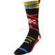 Youth Black/Yellow Czar MX Socks