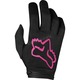 Youth Girl's Black/Pink Dirtpaw Mata Gloves