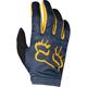 Youth Girl's Navy/Yellow Dirtpaw Mata Gloves