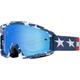 White/Red/Blue Main Stripe Goggles - 21816-574-NS