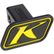 Black/Yellow Trailer Hitch Cover - 5006-000-000-500