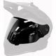 Chrome Mirror/Yellow Dual Electric Replacement Shield 2.0 for Delta R3 Helmet - F01001300-000-502