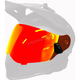 Fire Mirror/Rose Tint Dual Electric Replacement Shield 2.0 for Delta R3 Helmet - F01001300-000-101
