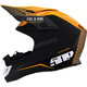 Off Grid Orange Altitude Carbon Fiber Helmet w/Fidlock Technology
