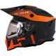 Orange Delta R3 2.0 Ignite Helmet w/Fidlock Technology