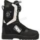 Black/White Raid Boa Boots