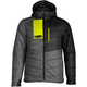 Gray/Hi-Vis Syn Loft Insulated Hooded Jacket