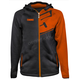 Orange Tech Zip Hoody