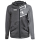 Gray Tech Zip Hoody