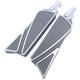 Gray Ripper Male Footpegs - C1843-T