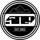 4 in. EST. Logo Stickers - F13000200-004-001