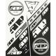 Black/White Sticker Sheet - F13000300-000-001