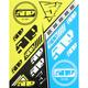 Hi-Vis/Blue Sticker Sheet - F13000300-000-501