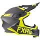 Black/Hi-Vis Helium Carbon Helmet