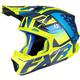 Blue/Hi-Vis/Navy Blade 2.0 Carbon Race Division Helmet