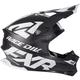 Black/White Blade 2.0 Race Division Helmet