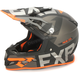 Black/Charcoal/Orange Boost EVO Helmet