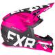 Black/Fuchsia Boost EVO Helmet