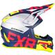Navy/Red/Hi-Vis/Silver Boost EVO Helmet