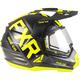 Black/Hi-Vis Torque X EVO Helmet w/Electric Shield