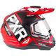 Red/Black/White Torque X EVO Helmet w/Electric Shield