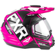 Fuchsia/Black Torque X EVO Helmet w/Electric Shield