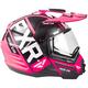 Elec Pink/Black Torque X EVO Helmet w/Electric Shield