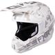 White Camo/White Torque Squadron Helmet