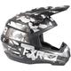 Charcoal Camo/Black Torque Squadron Helmet