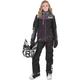 Women's Black/Charcoal/Fuchsia Elevation Lite Dri-Link 2pc Monosuit