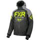 Black/Light Gray/Hi-Vis Clutch Jacket