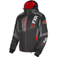 Black/Red/Charcoal Renegade X4 Jacket
