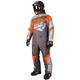 Charcoal/Gray/Orange Insulated CX Monosuit